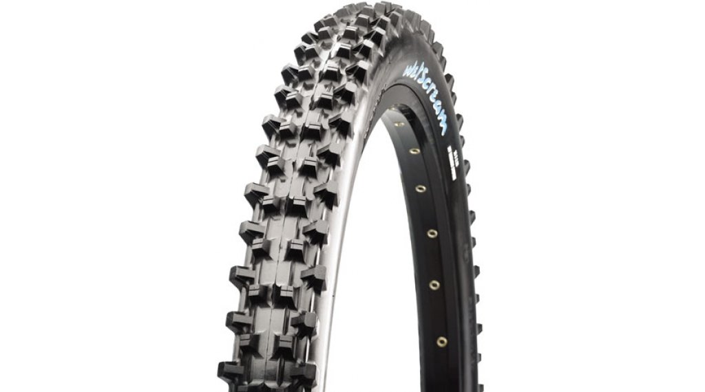 "Maxxis Wetscream 27.5"" Downhill(速降)-钢丝胎 56-584 (27.5x2.50) (60 TPI) SuperTacky-Compound DW 黑色"