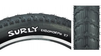Surly Endomorph Fatbike cubierta(-as) alambre 26x3.70 27Tpi