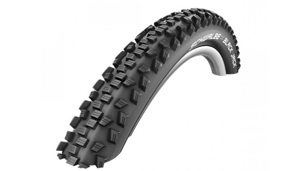 "Schwalbe Black Jack Active 26"" Drahtreifen K-Guard SBC 47-559 (26x1.90) black"