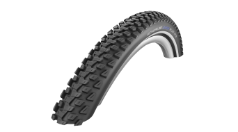 "Schwalbe 马拉松 Plus MTB(山地) 26"" 钢丝胎 Performance SmartGuard Twin-Skin E-50 Dual-Compound black-reflex"