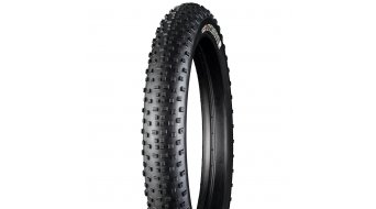 Bontrager Barbegazi 27,5 Fatbike cubierta(-as) plegable(-es) (27,5x4.50) Team Issue negro