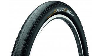 "Continental SpeedKing 2.2 RaceSport 29"" MTB(山地)-Tuning-折叠轮胎 55-622 (29x2.2) 黑色/黑色 Skin 3/180tpi BlackChili Compound"