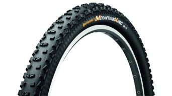 Continental Mountain King II ProTection MTB-Enduro/XC-cubierta(-as) plegable(-es) negro(-a) 4/240tpi BlackChili Compound