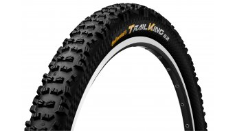 Continental Trail King 2.2 ProTectionApex MTB(山地)-FR/Enduro-折叠轮胎 55-622 (29x2.2) 黑色 4/240tpi BlackChili Compound