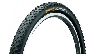 Continental X-King RaceSport MTB-XC-cubierta(-as) plegable(-es) negro(-a) 3/180tpi BlackChili Compound