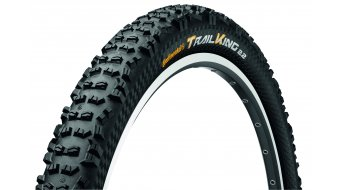 Continental Trail King 2.4 ProTectionApex MTB-FR/Enduro-cubierta(-as) plegable(-es) 60-559 (26x2.4) negro(-a) 4/240tpi BlackChili Compound