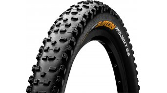 "Continental Der Baron project ProTection Apex 27.5"" MTB-folding tire (27.5 x black/black Skin 3/180tpi ECO25 BlackChili compound"