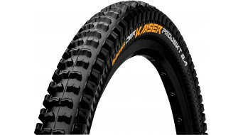Continental el Kaiser 2.4 Projekt ProTection Apex MTB-cubierta(-as) plegable(-es) 60-584 (27.5 x 2.4) negro/negro 4/240tpi BlackChili Compound