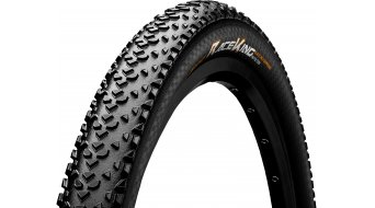 Continental Race King 2.2 ProTection VTT-pneu pliable 55-622 (29 x 2.2) black/black Skin 4/240tpi BlackChili Compound