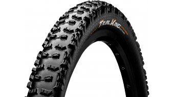 Continental Trail King ProTection Apex MTB(山地)-折叠轮胎 (29 x 黑色/黑色 Skin 3/180tpi ECO25 BlackChili Compound