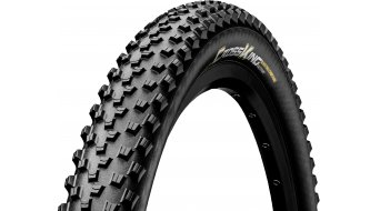"Continental Cross King RaceSport 26"" MTB(山地)-折叠轮胎 (26 x 黑色/黑色 Skin 3/180tpi BlackChili Compound"