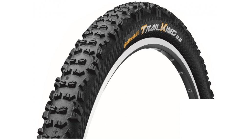 "Continental Trail King 2.2 ShieldWall 27.5"" MTB-Faltreifen 55-584 (27.5x2.20) ECO25 black/black"