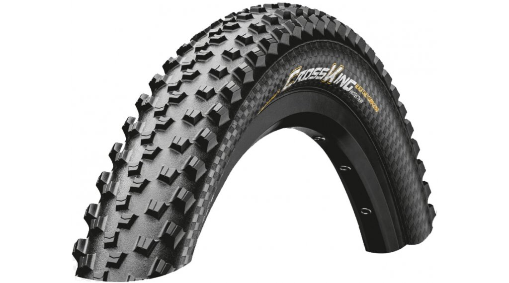 "Continental Cross King 2.2 ShieldWall 29"" MTB-Faltreifen 55-622 (29x2.20) ECO25 black/black Skin"