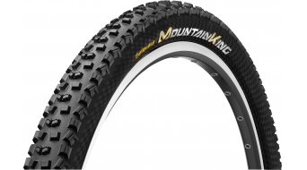 "Continental Mountain King ShieldWall System 29"" MTB(山地)-折叠轮胎 58-622 (29 x 2.30) 黑色/黑色 3/180tpi PureGrip Compound"