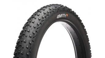45NRTH Dillinger Fatbike Spike cubierta(-as) plegable(-es) konkave aluminio-Carbid Spikes (26x4.0) 120tpi