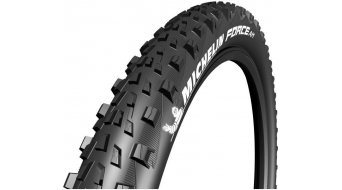 Michelin Force AM Performance Mountainbike-折叠轮胎 FB TLR Gum-X 66-584 (27.5x2.6) 黑色