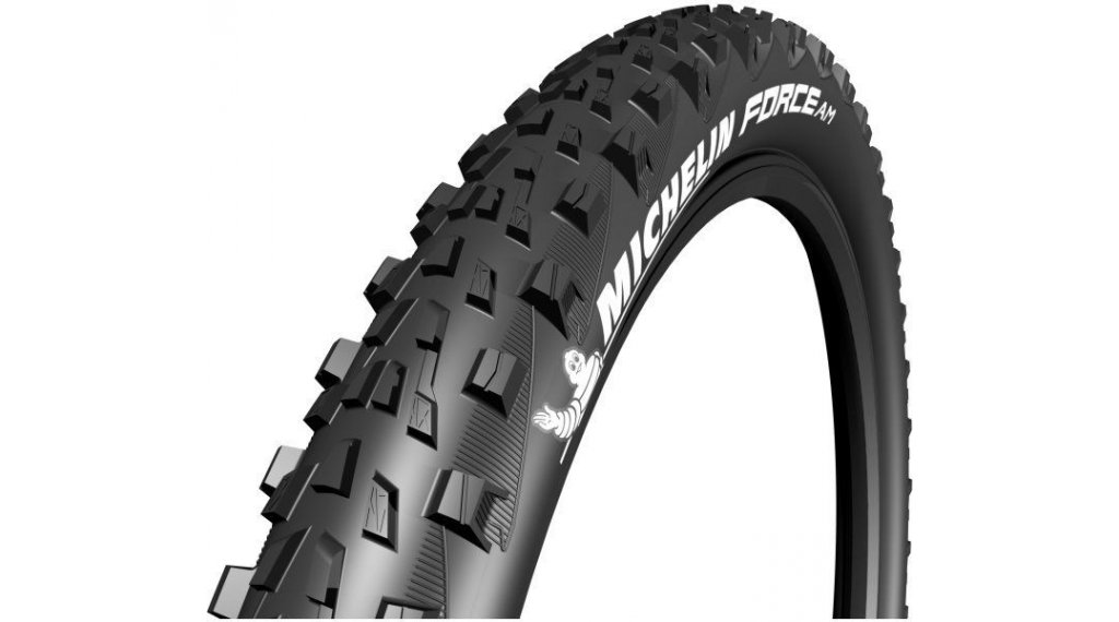 Michelin Force AM Performance Mountainbike-折叠轮胎 FB TLR Gum-X 71-584 (27.5x2.8) 黑色