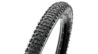 "Maxxis Aggressor 27.5"" 折叠轮胎 TR + EXO (27.5 x Dual-Compound (60 TPI) 黑色"