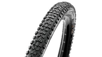 "Maxxis Aggressor 29"" 折叠轮胎 TR + EXO (29 x Dual-Compound (60 TPI) 黑色"