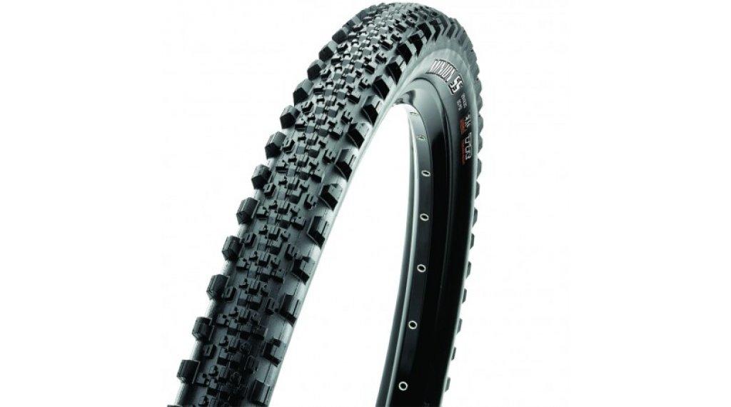 "Maxxis Minion SemiSlick 29"" MTB(山地)-折叠轮胎 58-622 (29x2.30) (60 TPI) Dual-Compound TR + EXO 黑色"