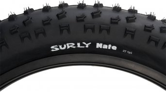 Surly Nate Fatbike cubierta(-as) plegable(-es) 26x3.8 120Tpi