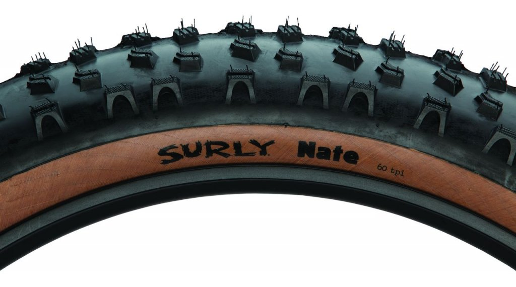 Surly Nate Skinwall 折叠轮胎 26x3.8 60Tpi