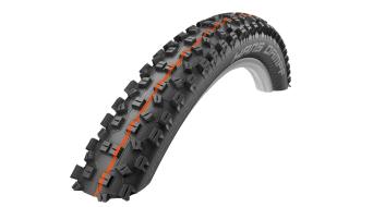 Schwalbe Hans Dampf Evolution Super Gravity TL Easy Snake-Skin E-25 pneu pliable 60-584 (27.5x2.35, 650B) Addix Soft-Compound black Mod. 2018