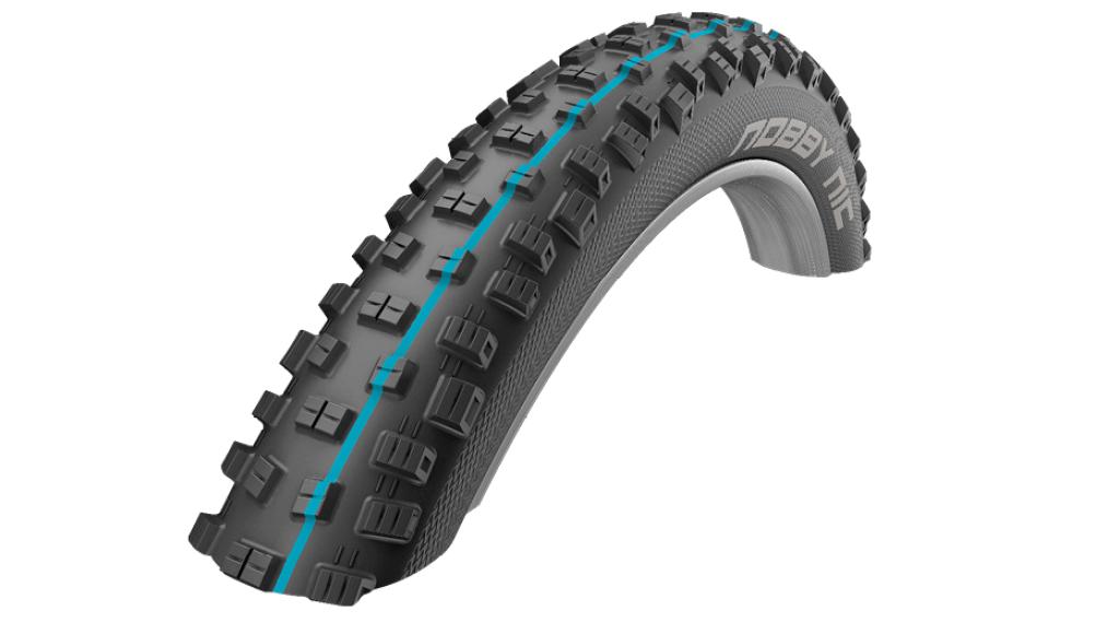 "Schwalbe Nobby Nic Evolution 27.5"" 折叠轮胎 SnakeSkin ADDIX SpeedGrip 57-584 (27.5x2.25) black"