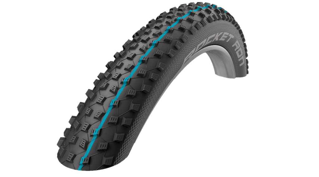 "Schwalbe Rocket Ron Evolution 27.5"" 折叠轮胎 SnakeSkin ADDIX SpeedGrip 57-584 (27.5x2.25) black"