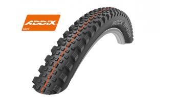 """Schwalbe Rock Razor 27.5"""" 折叠轮胎 Evolution Super Gravity TL Easy Snake-Skin E-25 60-584 (27.5x2.35) Addix Soft-Compound black"""