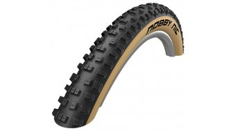 "Schwalbe Nobby Nic 26"" 折叠轮胎 Evolution LiteSkin Lite-Skin 57-559 (26x2.25) Addix Speedgrip-Compound 米色-skin"