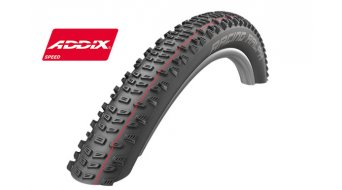 "Schwalbe Racing Ralph 26"" 折叠轮胎 Evolution Snake-Skin SnakeSkin TL Easy E-50 57-559 (26x2.25) Addix Speed-Compound black"