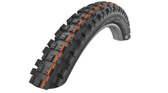 "Schwalbe Eddy Current Rear Evolution 27.5"" folding tire Super Gravity ADDIX Soft black"