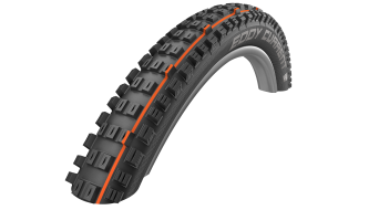 "Schwalbe Eddy Current 29"" folding tire Evolution Snake-Skin Super Gravity TL Easy E-25 Addix Soft-compound black"