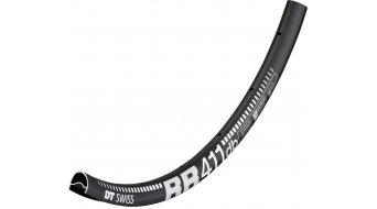 """DT Swiss RR 411 Asymmetric disque 28"""" vélo de course jante Loch noir incl. DT Squorx Pro Head écrou + rondelles"""