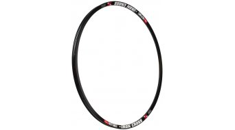 NoTubes ZTR Iron Cross 700C Disc Crosser cerchio fori nero
