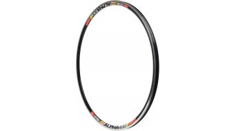 NoTubes ZTR Alpha 400 road bike rim hole black