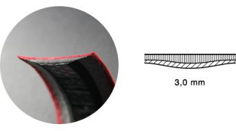 Fizik Tempo Microtex Bondcush Classic Lenkerband 3.0mm red