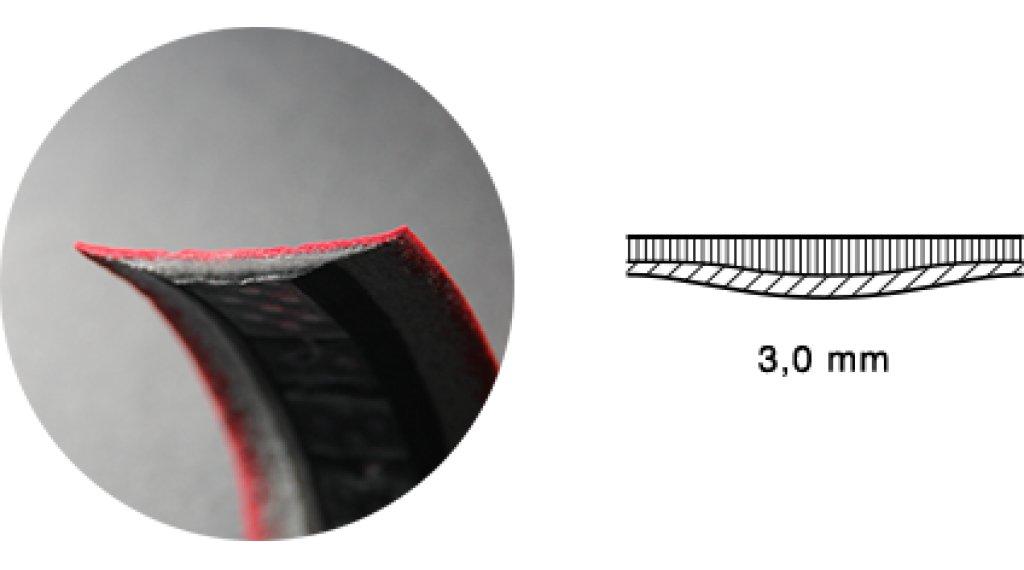 Fizik Tempo Microtex Bondcush Classic Lenkerband 3.0mm celeste (bianchi green)