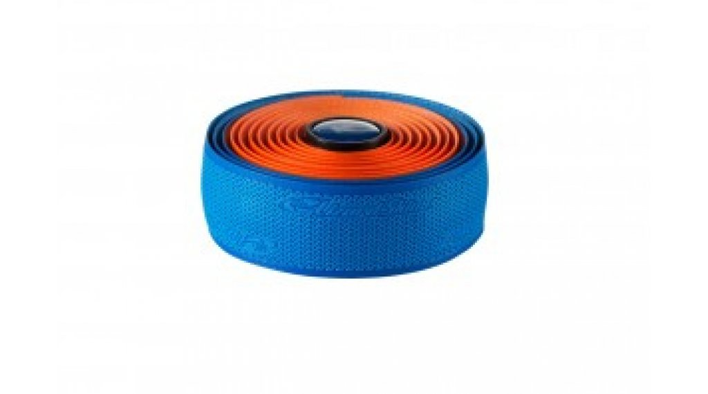 Lizard Skins DSP Dual Lenkerband 2.5mm cobalt blue/orange