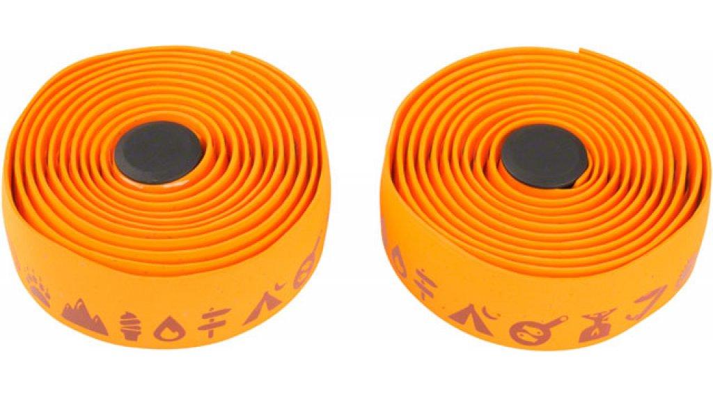 Salsa Glyph Gel Cork 车把带 橙色