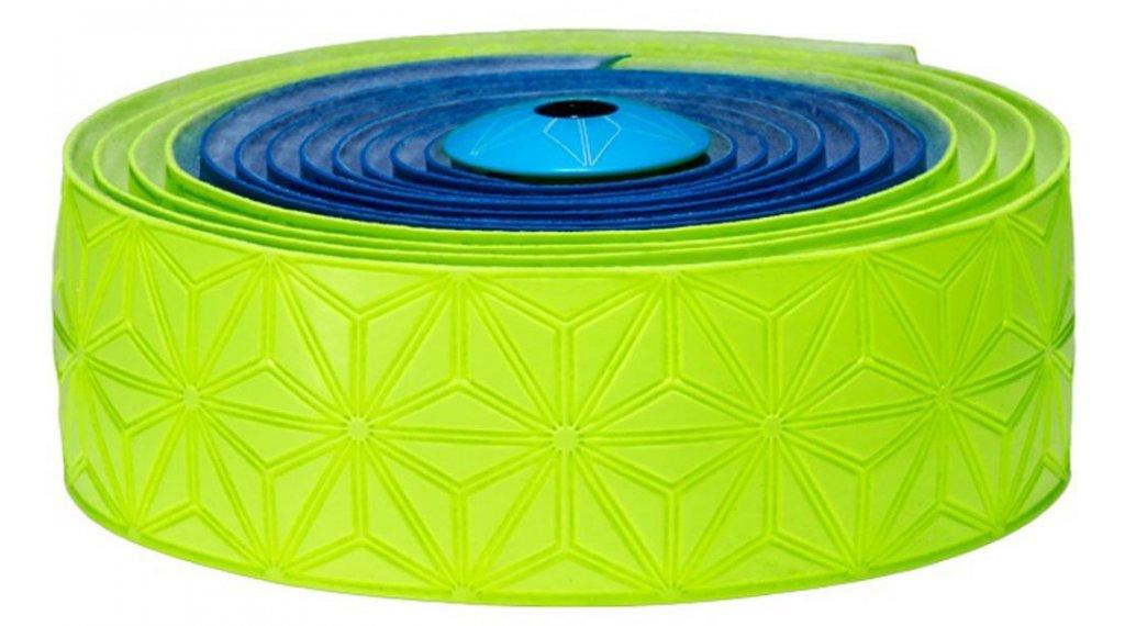 Neon Blue//Neon Ye Supacaz Super Sticky Kush Multi Color Bar Tape Grips /& Tape
