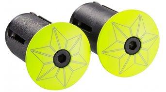 Supacaz Super Sticky Kush 车把带 Print neon 黄色/neon 蓝色