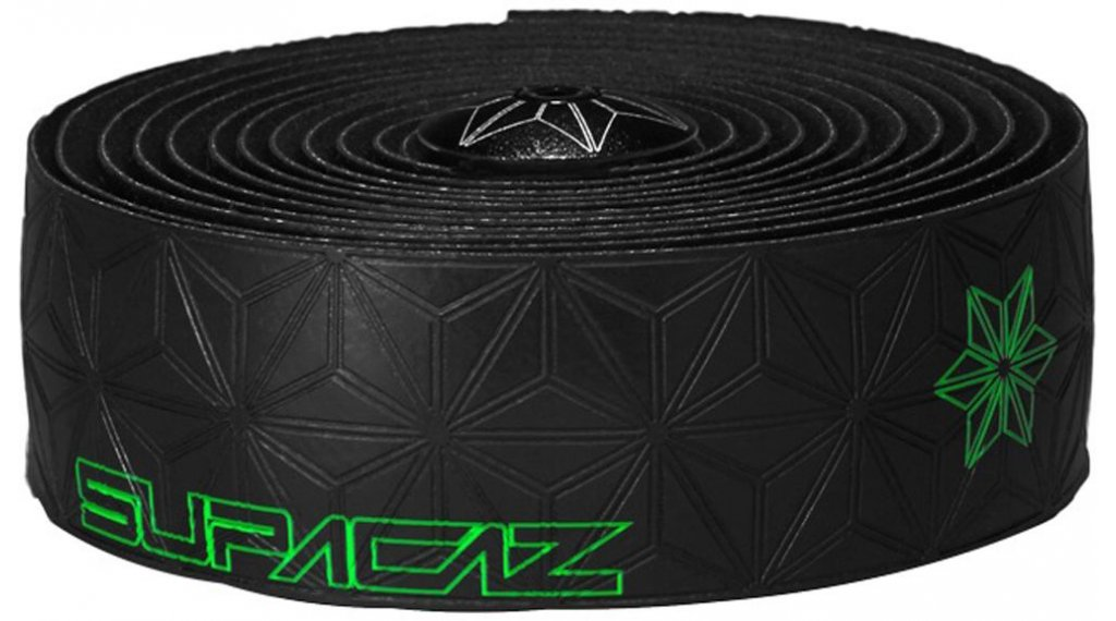 Supacaz Super Sticky Kush Galaxy Lenkerband neon green