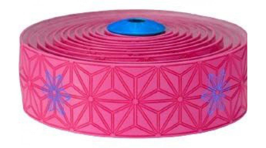 Supacaz Super Sticky Kush 车把带 Print neon 粉色/neon 蓝色- 限量版
