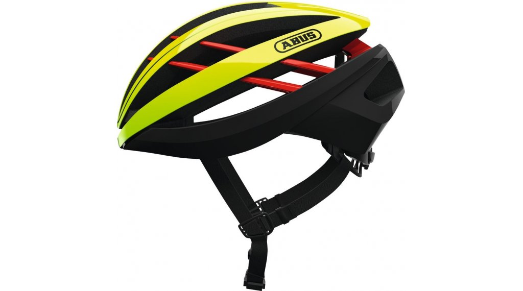 Abus Aventor bici carretera-casco tamaño S (51-55cm) color neón amarillo Mod. 2020