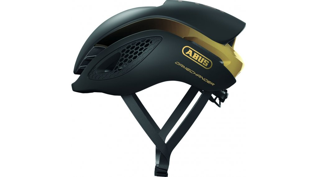 Abus GameChanger 公路头盔 型号 S (51-55厘米) black 金色 款型 2020