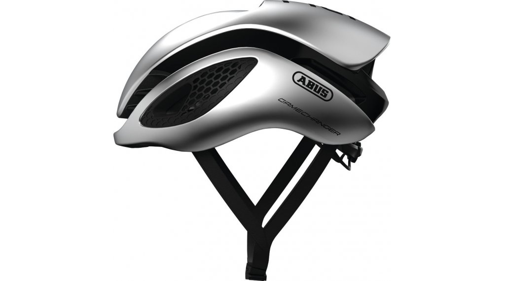 Abus GameChanger 公路头盔 型号 S (51-55厘米) gleam silver 款型 2020