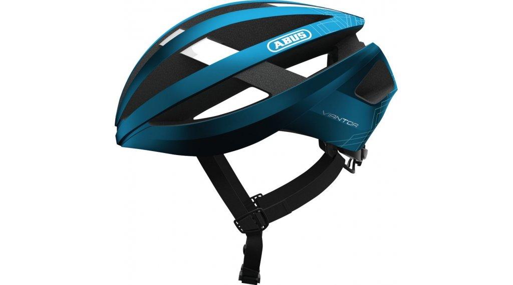 Abus Viantor Rennrad-Helm Gr. S (51-55cm) steel blue Mod. 2020