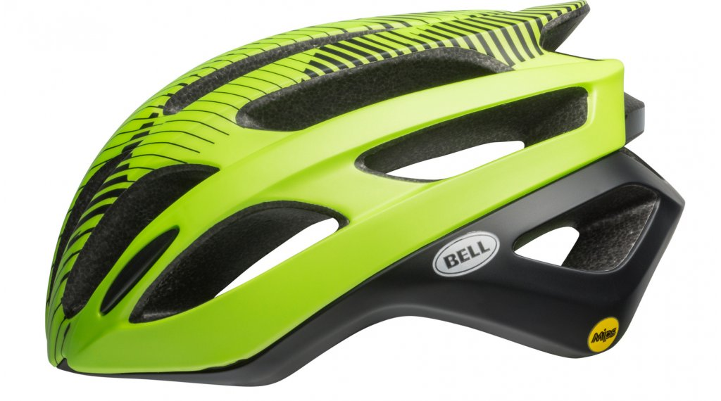 Bell Falcon MIPS road bike- helmet size L (58-62cm) shade mat green/black 2019